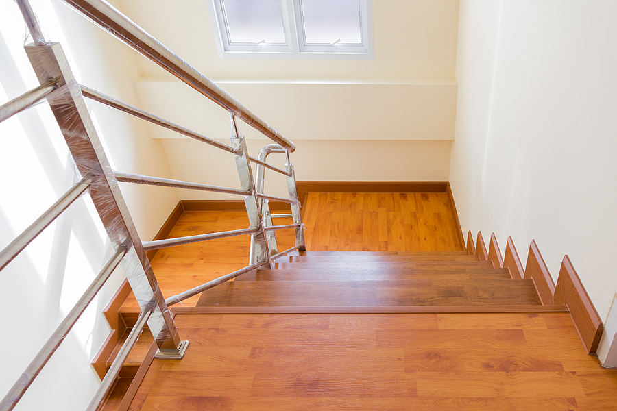 Staircase with balustrade in Perth